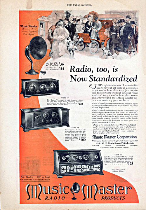 radio and television advertisement